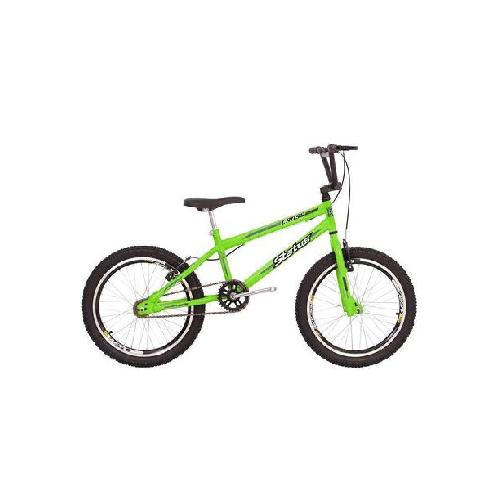Bicicleta Aro 20 Cairu Aero Cross Flash Boy Verde Neon