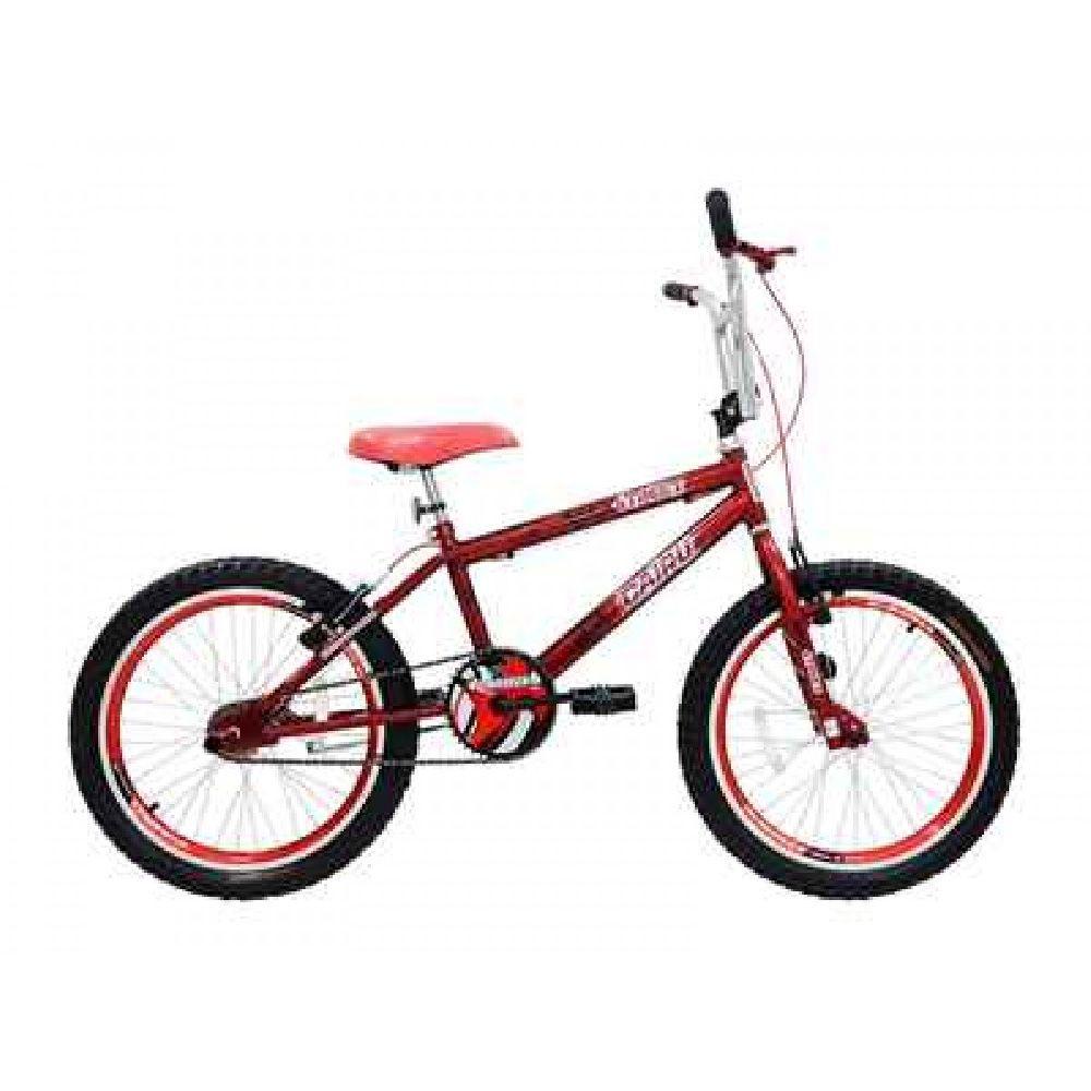 Bicicleta Aro 20 Cairu Aero Freest Max Street Vermelho
