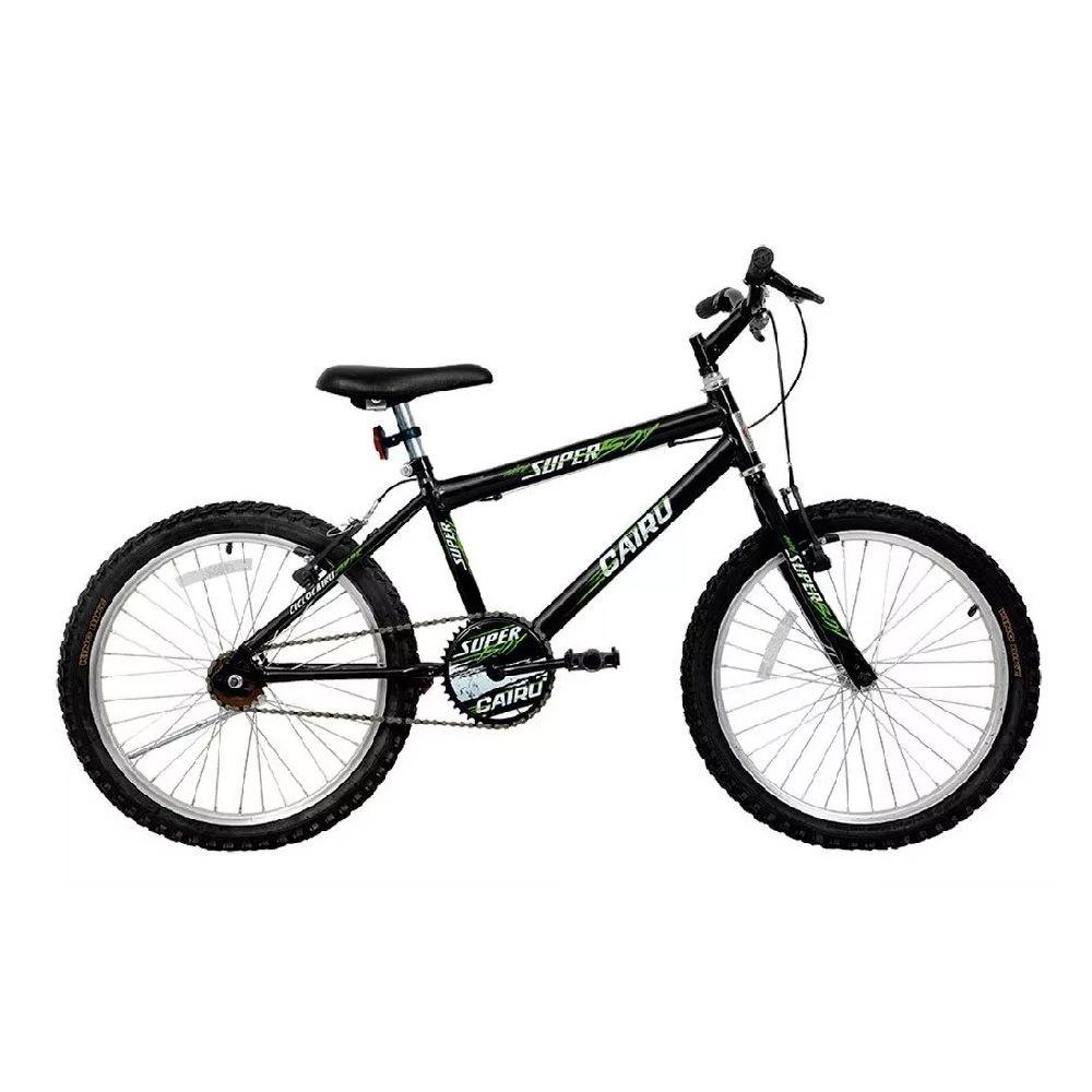 Bicicleta Aro 20 Cairu Aro  Mtb Masculina Super Boy Preta
