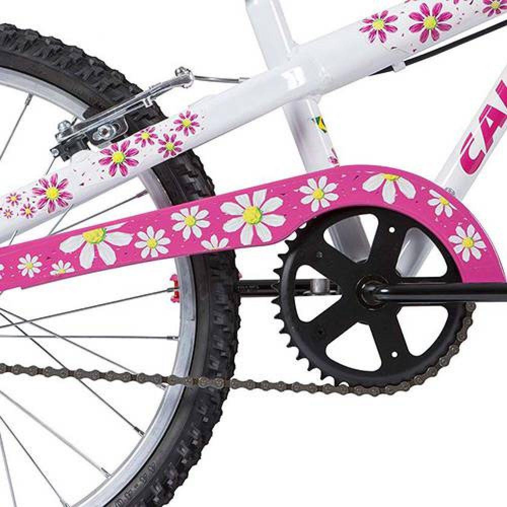 Bicicleta Aro 20 Caloi Ceci Branca Aço