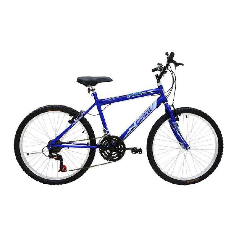 Bicicleta Aro 24 Cairu Flash Bike 21v Azul