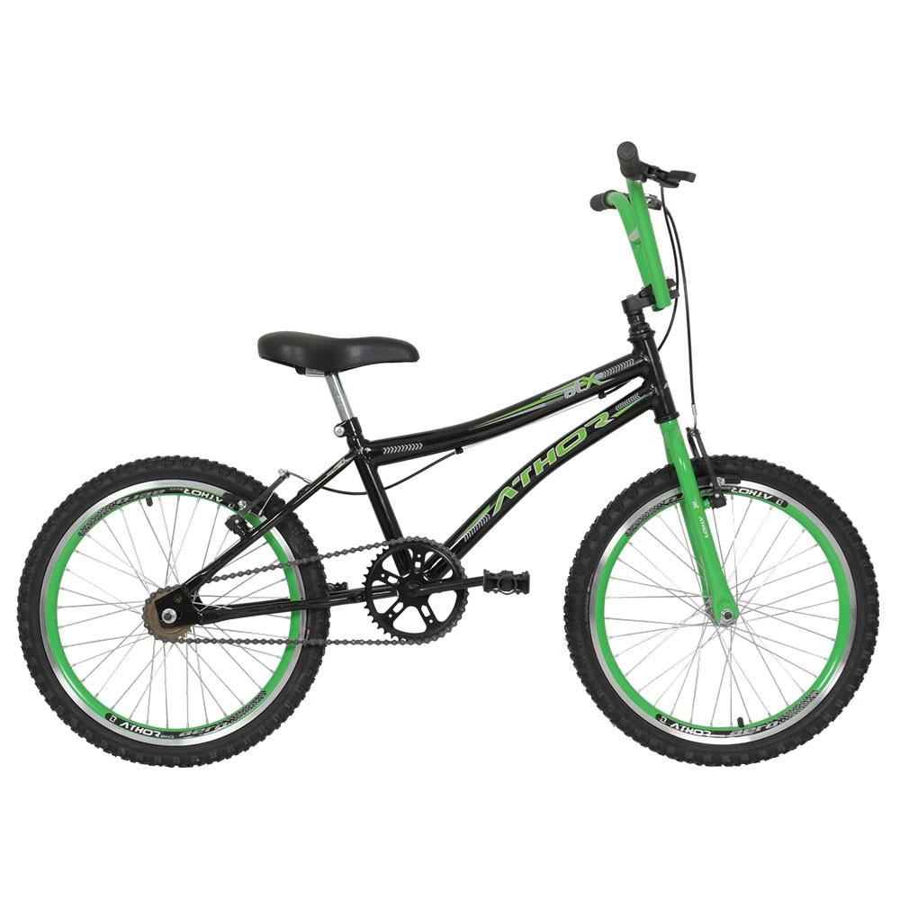 Bicicleta Atx  Aro 20  bmx  Athor Preto/Verde