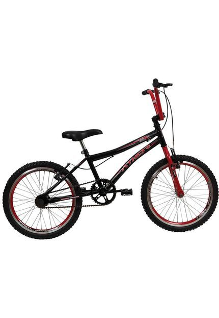 Bicicleta Atx  Aro 20 Masculino Athor Preto/Vermelho