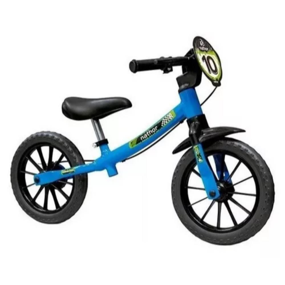 Bicicleta Balance Nathor Aro 12 Azul Masculina Sem Pedal
