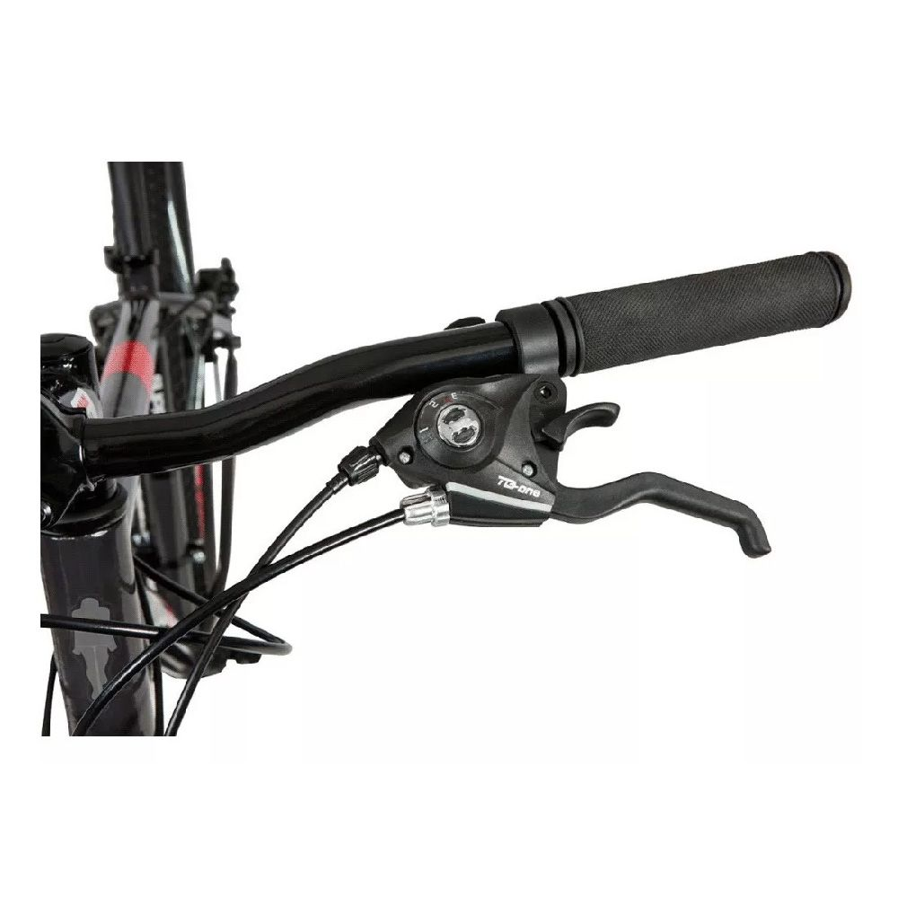 Bicicleta Caloi 29 Supra t/17 Cinza 21v Shimano Freio disco