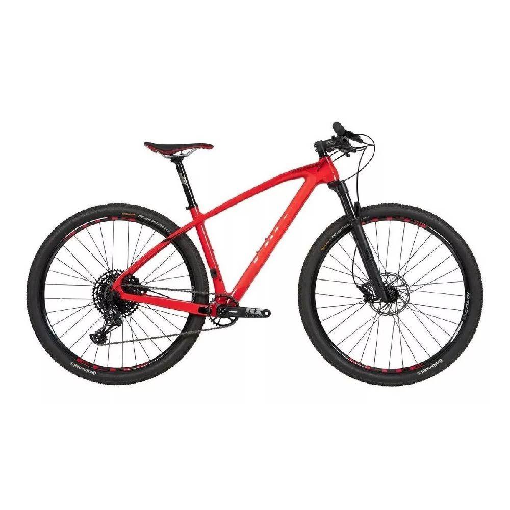 Bicicleta Caloi Carbon Sport Nx Aro 29 T/17 12v Vermelho 2020