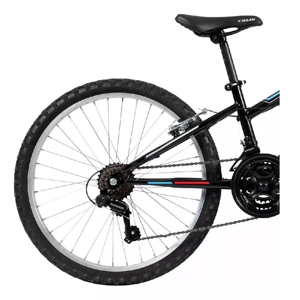 Bicicleta Caloi Forester Aro 24 Preto BRL Infantil