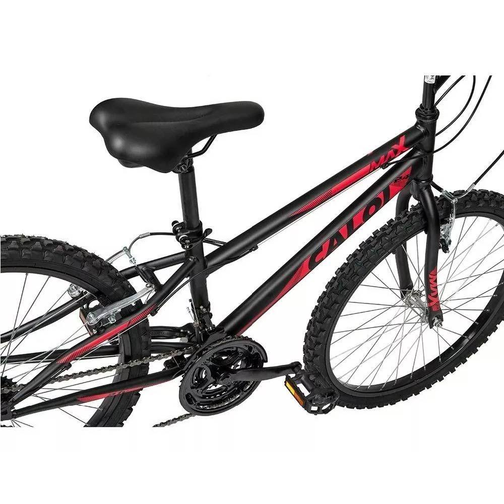 Bicicleta Caloi Max  Aro 24 Preto BRL Infantil