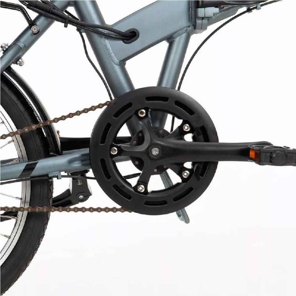 Bicicleta Eletrica Easy Dobrável 2020 Cinza Tam Único