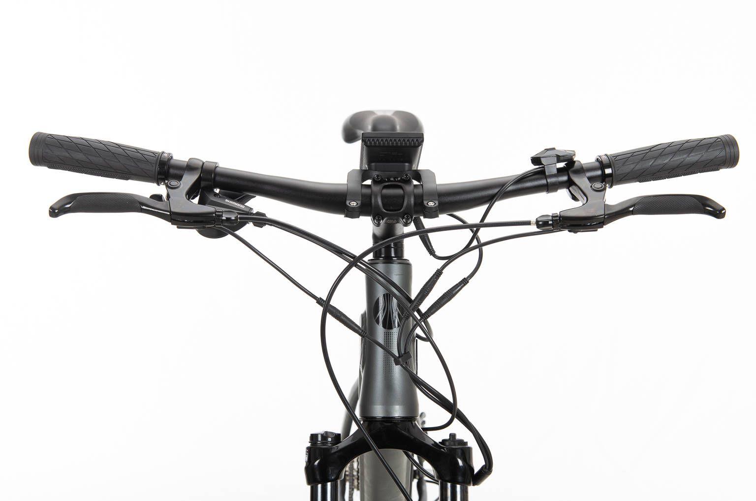 Bicicleta Eletrica Sense 27.5 Impulse Preta Alum 2020 350W  ( Mostruário )