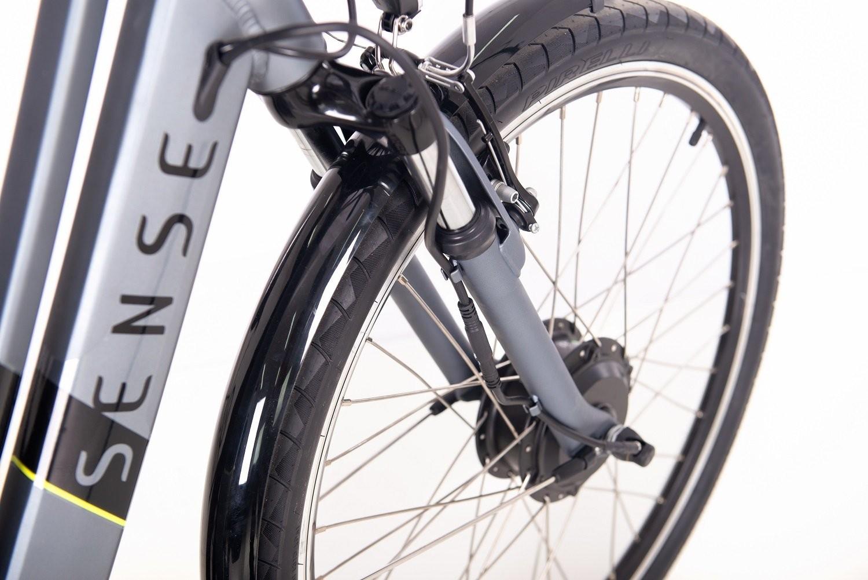 Bicicleta Elétrica Urbana Sense Breeze 2020 Cinza
