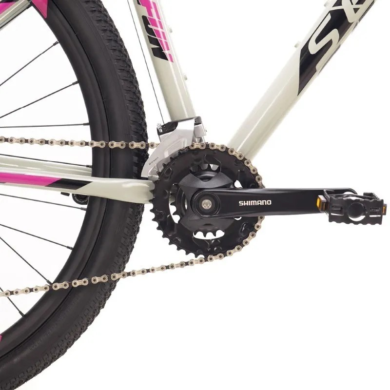 Bicicleta MTB Sense Fun COMP 2021/22 2X8V Roxa HIDRAULICO