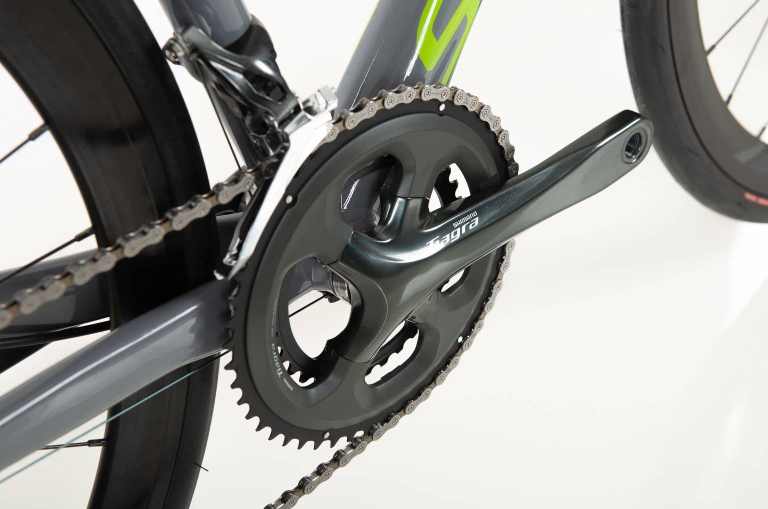 Bicicleta Sense Criterium Race 2020 Tiagra 20v Verde/Cinza