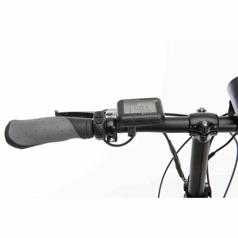 Bicicleta Sense Easy elétrica 2020 Cinza/azul Nexus 3v 250w