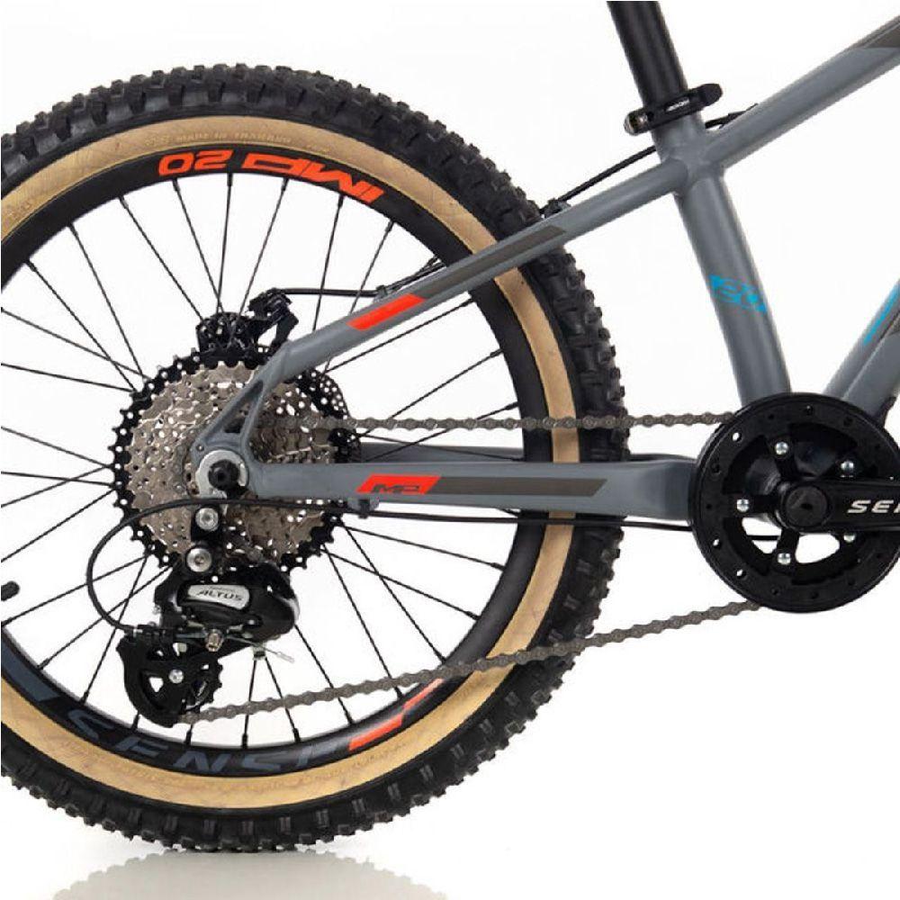 Bicicleta Sense Impact Aro 20 Azul/Vermelho 2020 Grom