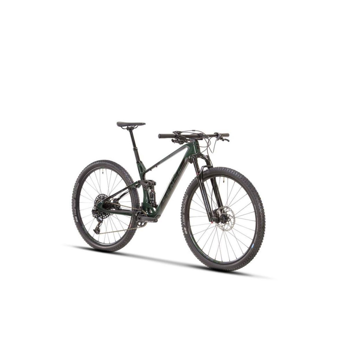 Bicicleta Sense INVICTUS COMP T/17 2021Carbono Full  Verde ( Semi nova )