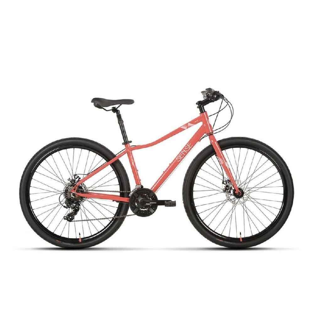 Bicicleta Sense Move 2020 Disc Urbana 21V Salmão