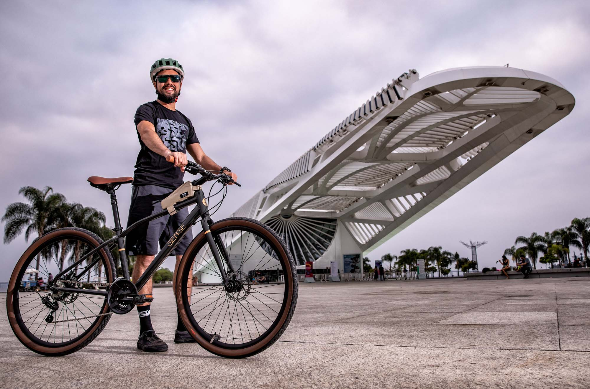 Bicicleta Sense Move URBAN 2021/22 Disc Urbana 21V Verde