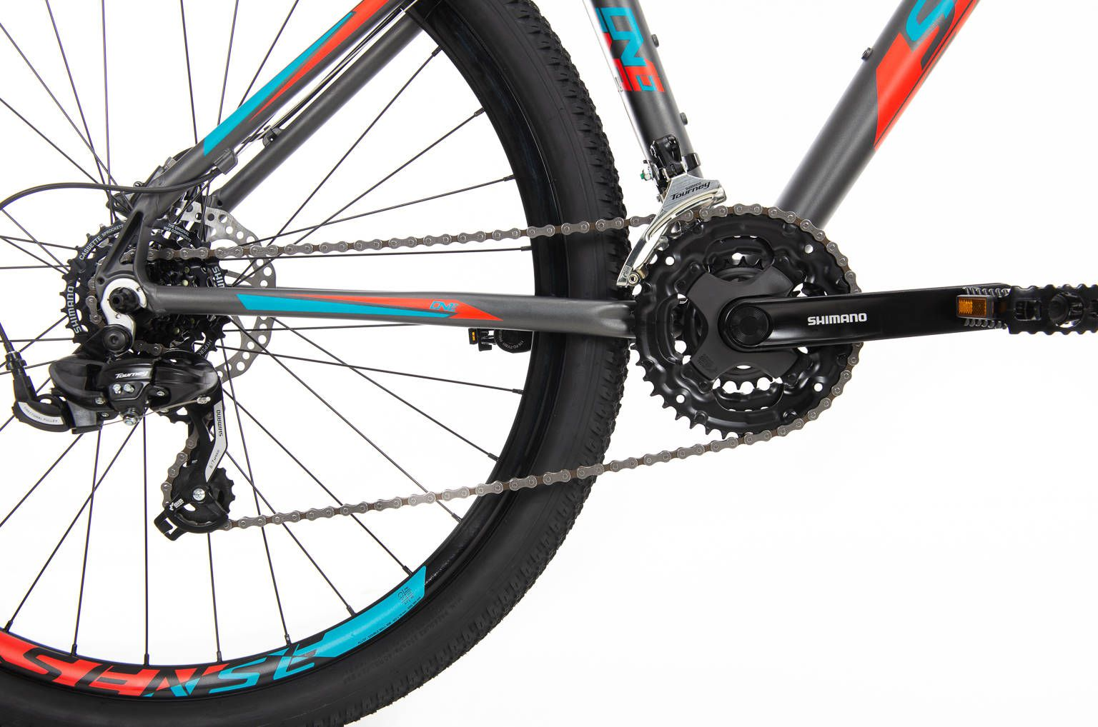 Bicicleta Sense One  2020 Aqua/Cinza  Freio óleo +brinde