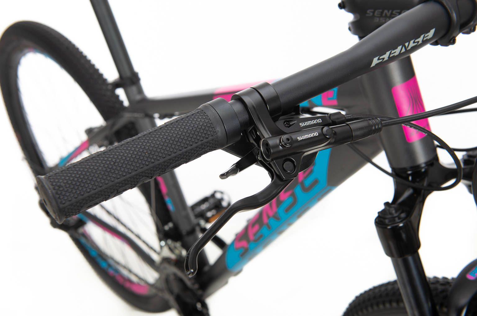Bicicleta Sense One  2020 Rosa 21v T-21-XL Freio Hidráulico