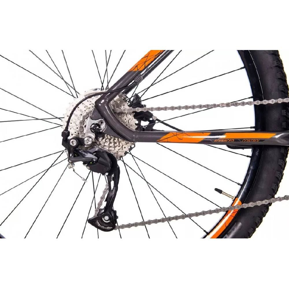 Bicicleta Sense Rock Evo 2019 T/L 19 Laranja/Cinza