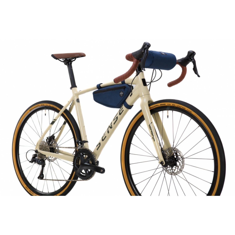 Bicicleta Sense Versa Comp  2021/22 Creme/verde Sora Gravel T/M