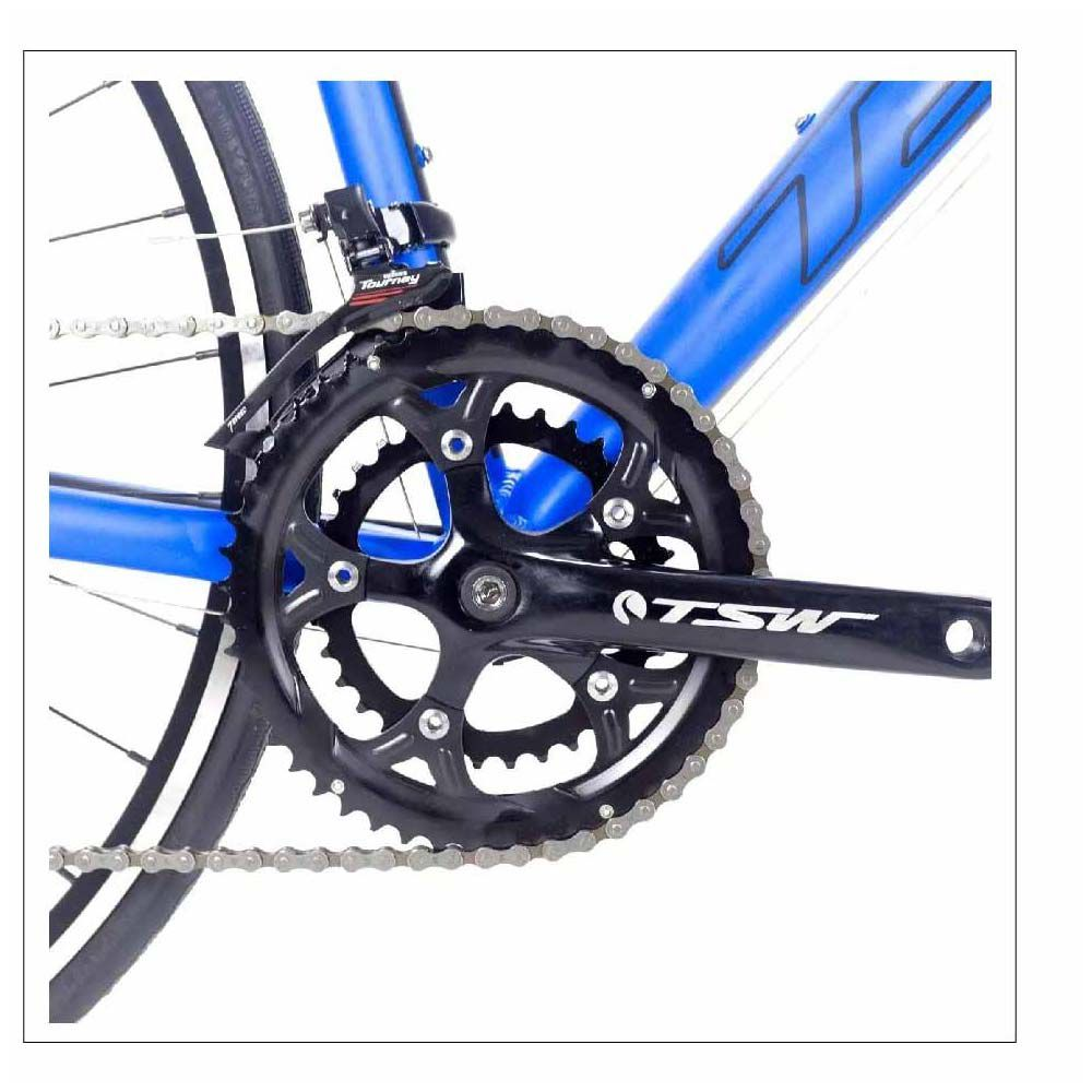 Bicicleta Tsw TR-30 T/54 Speed Azul Grupo Shimano Turney