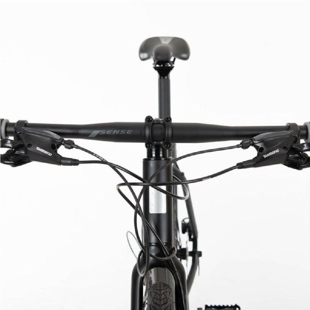 Bicicleta Urbana Sense Activ 2020 Cinza/Pto 27v Aro 700