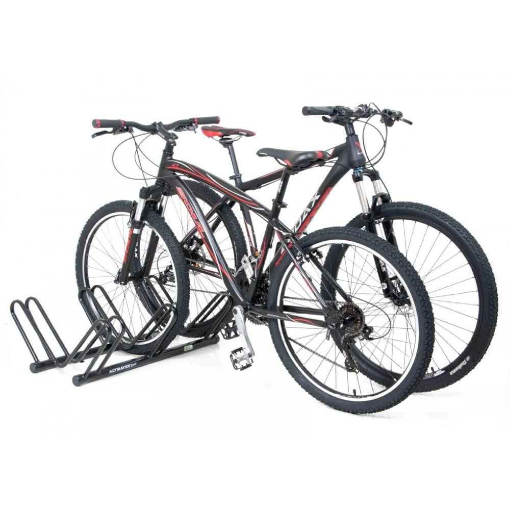 Bicicletário De Chão  Para Até 3 vaga Bicicletas