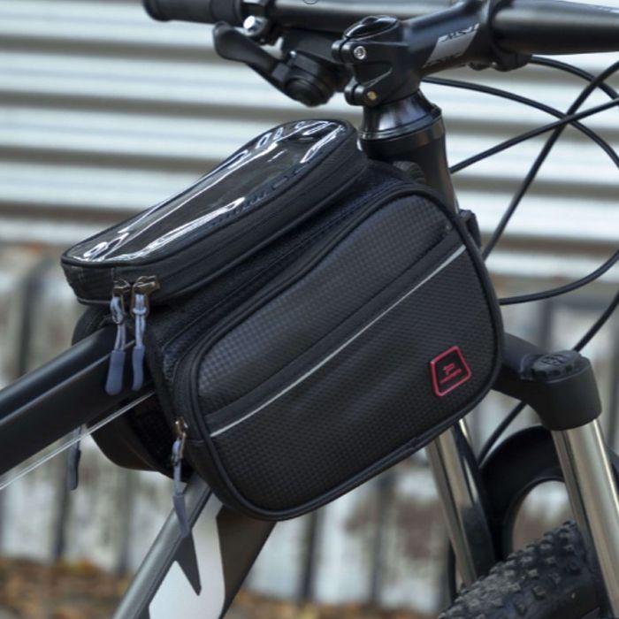 Bolsa Bike Celular Quadro Promend Impermeável Ótimo Espaço