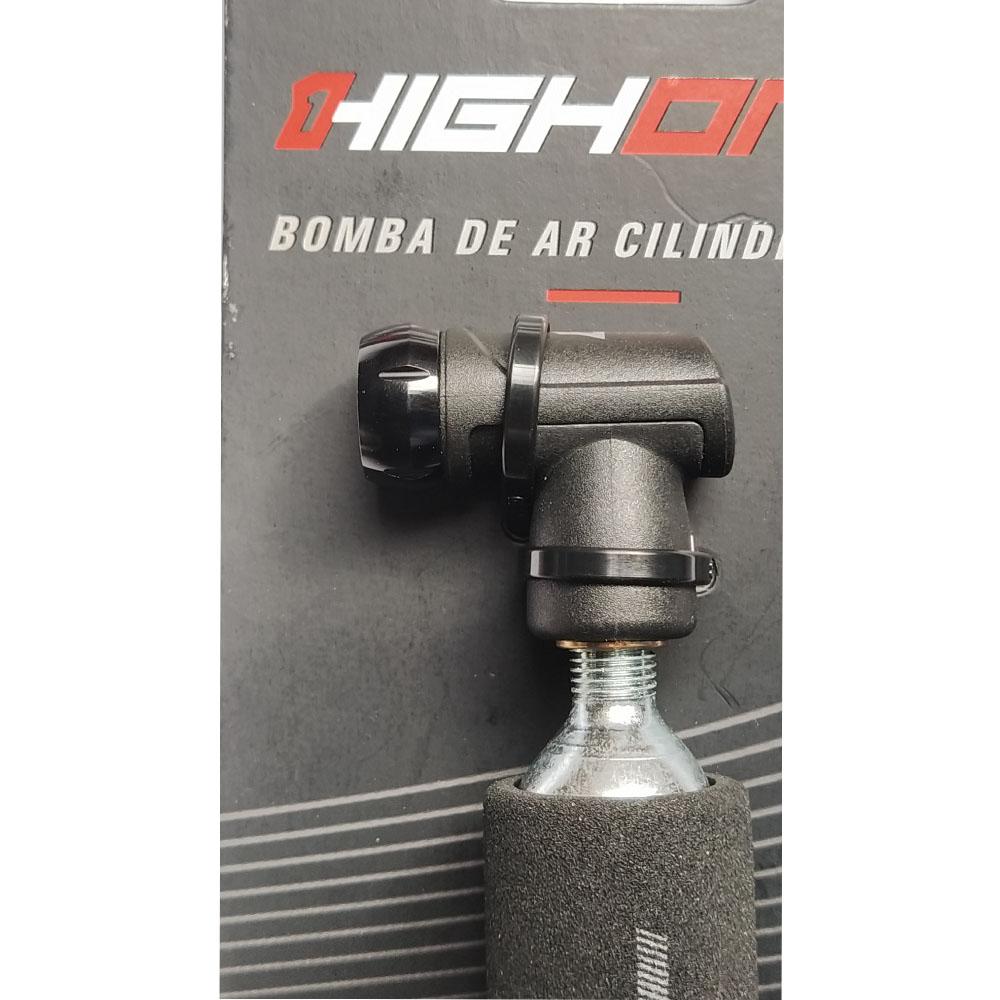 Bomba De CO2 High one C/ Gatilho P/ Valvulas +cilindro