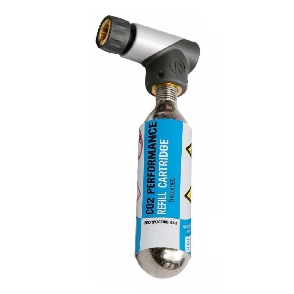 Bomba De CO2 Shimano Pro C/ Adaptador P/ Valvulas