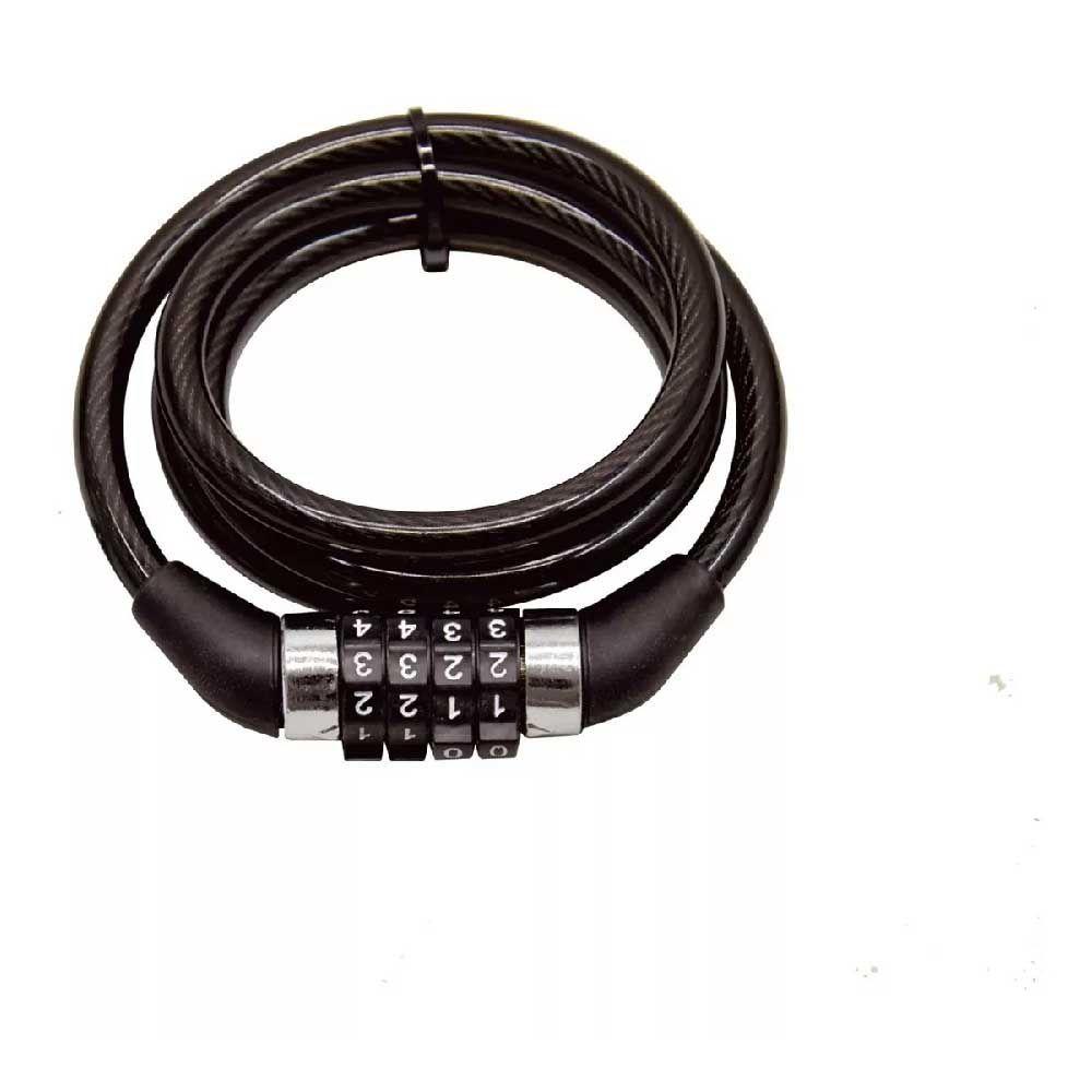 Cadeado Aspiral 12MM  Atrio Bio 12 Com  Segredo  100CM