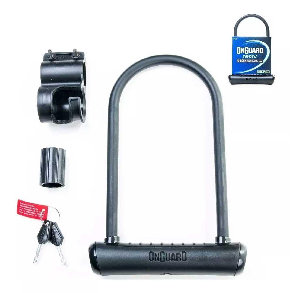 Cadeado Onguard Neon 8153 U-Lock Lar