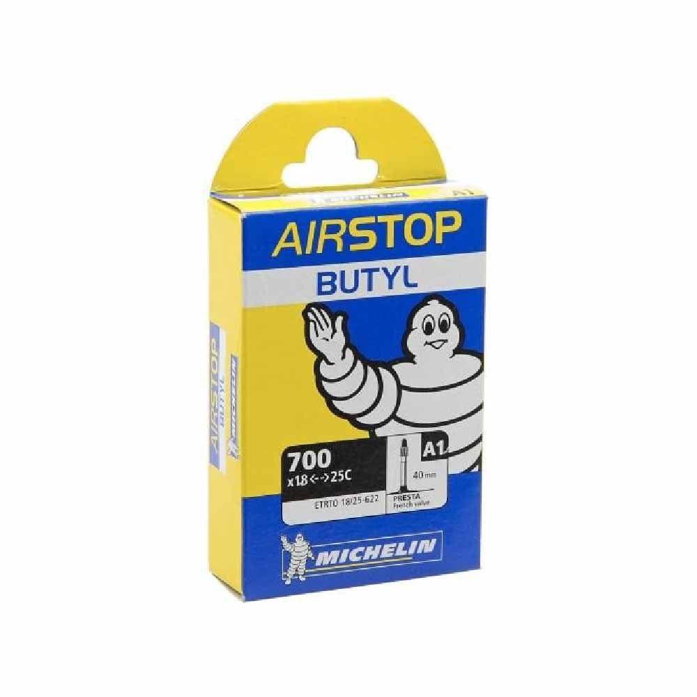 Camara De Ar 700x23 25 Michelin Valvula Presta