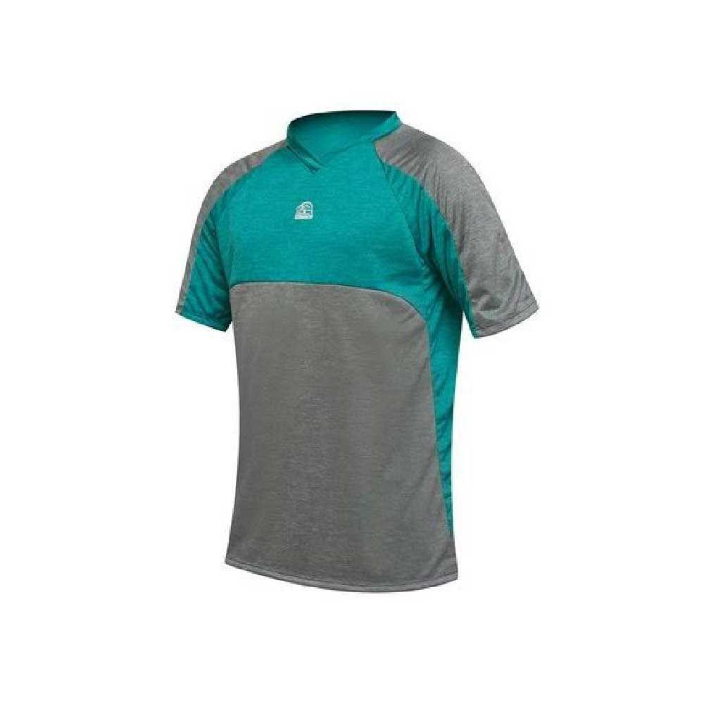 Camisa Damatta T/G Ciclismo Enduro Cinza/Verde