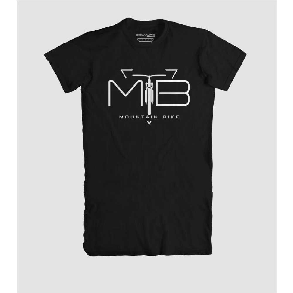 Camisa T/G Casual CiclyLife Preto Mtb