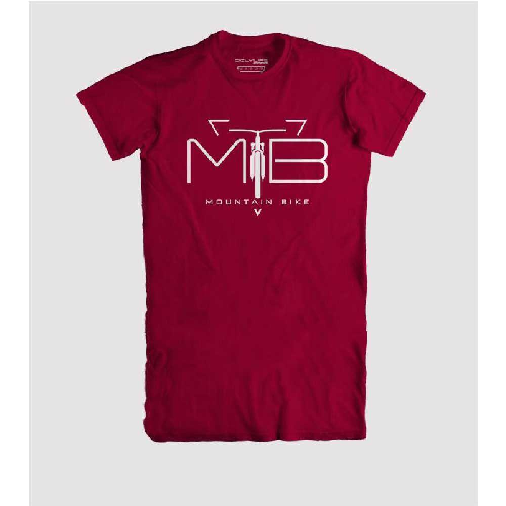 Camisa T/G Casual CiclyLife Vermelho Mtb