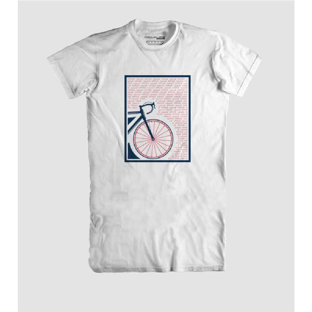 Camisa T/M Casual CiclyLife Speed Branca