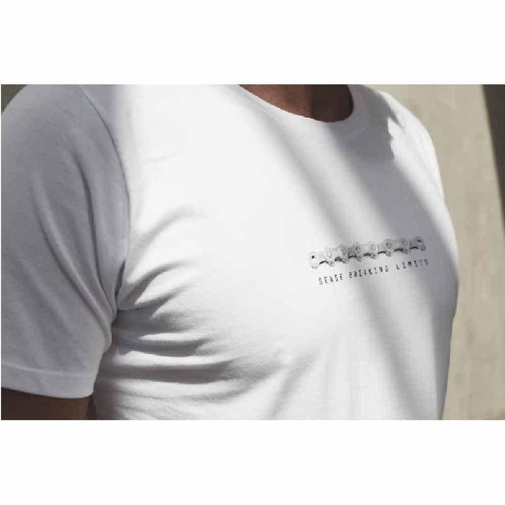 Camiseta Sense T/M Chain Branco