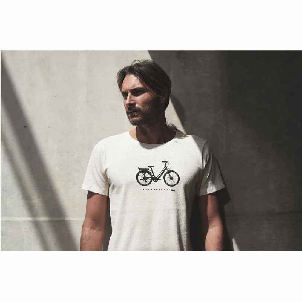 Camiseta Sense T/P Bike Eletrica Bege