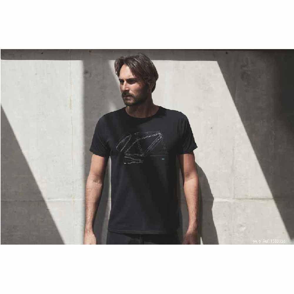 Camiseta Sense T/P Projeto Quadro Preto Algodão Egipcio