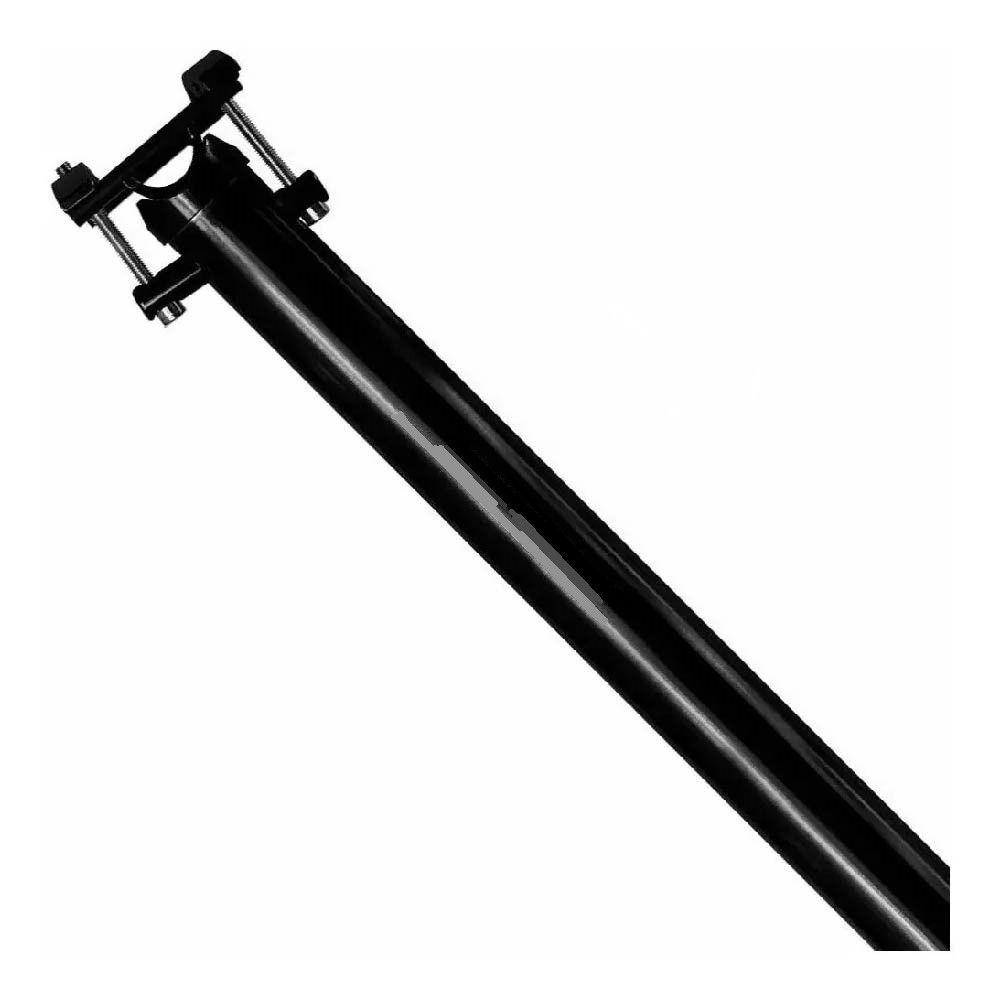 Canote Tsw 27.2 Micro Ajuste Preto 400mm Aluminio