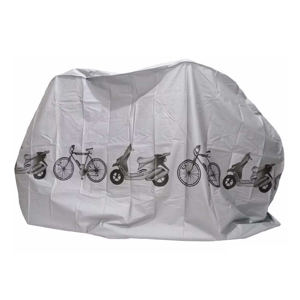 Capa Para Bicicleta Hb Cinza 220x60 110Cm Serve 26 Ate 29