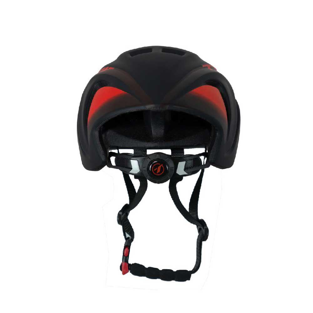Capacete 57-61cm Tsw Mtb Speed Team 2020 Preto Vermelho