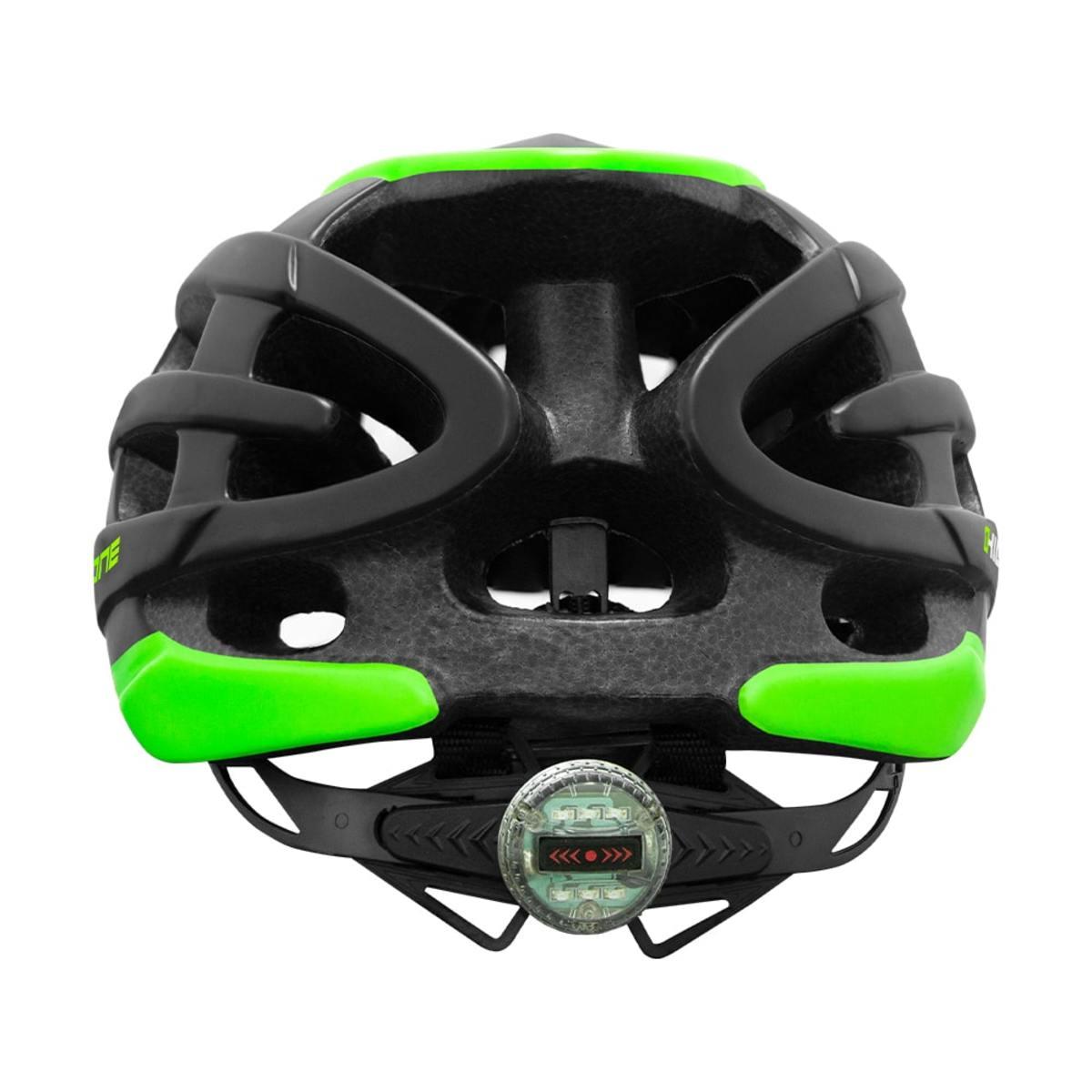 Capacete High One Mtb T/G Preto/Verde + Óculos Casco