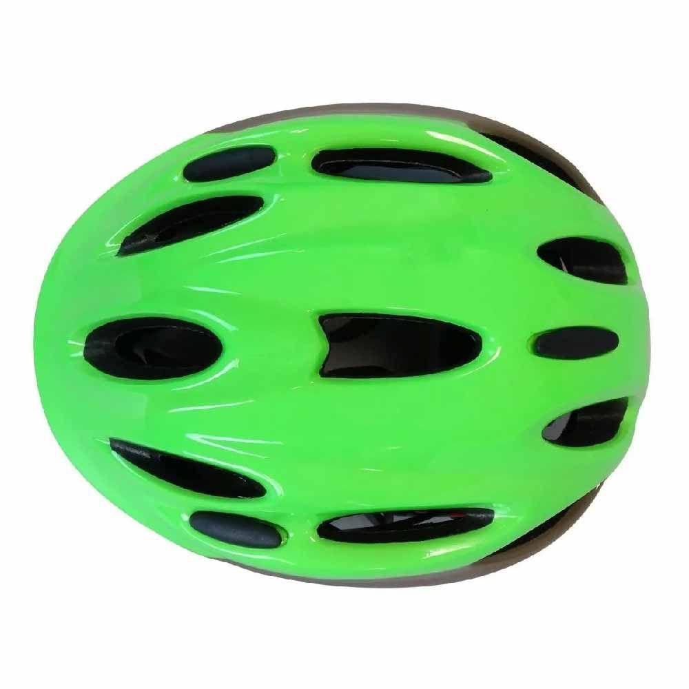 Capacete High One T/M Infantil Piccolo Verde/Cinza