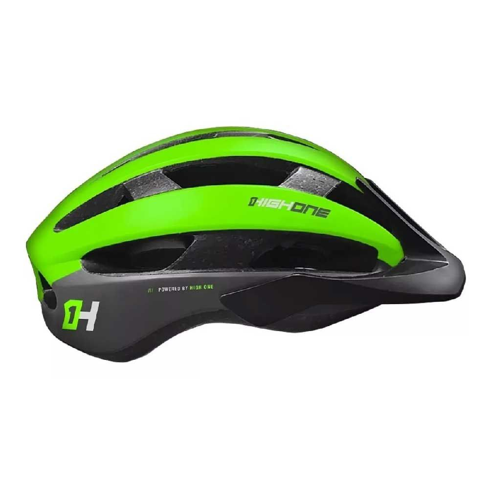 Capacete High One T/M Speed Wind Aero Preto/Verde