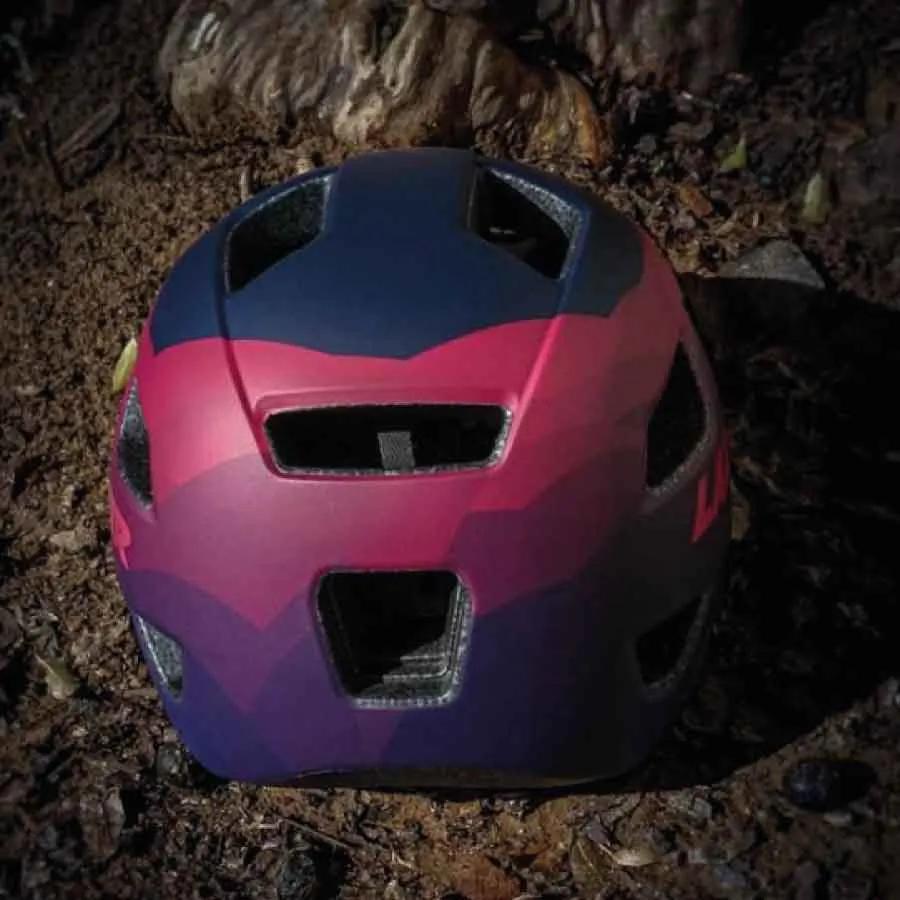 Capacete Lazer Mtb Chiru T/M 55-59 Azul/Rosa Fosco