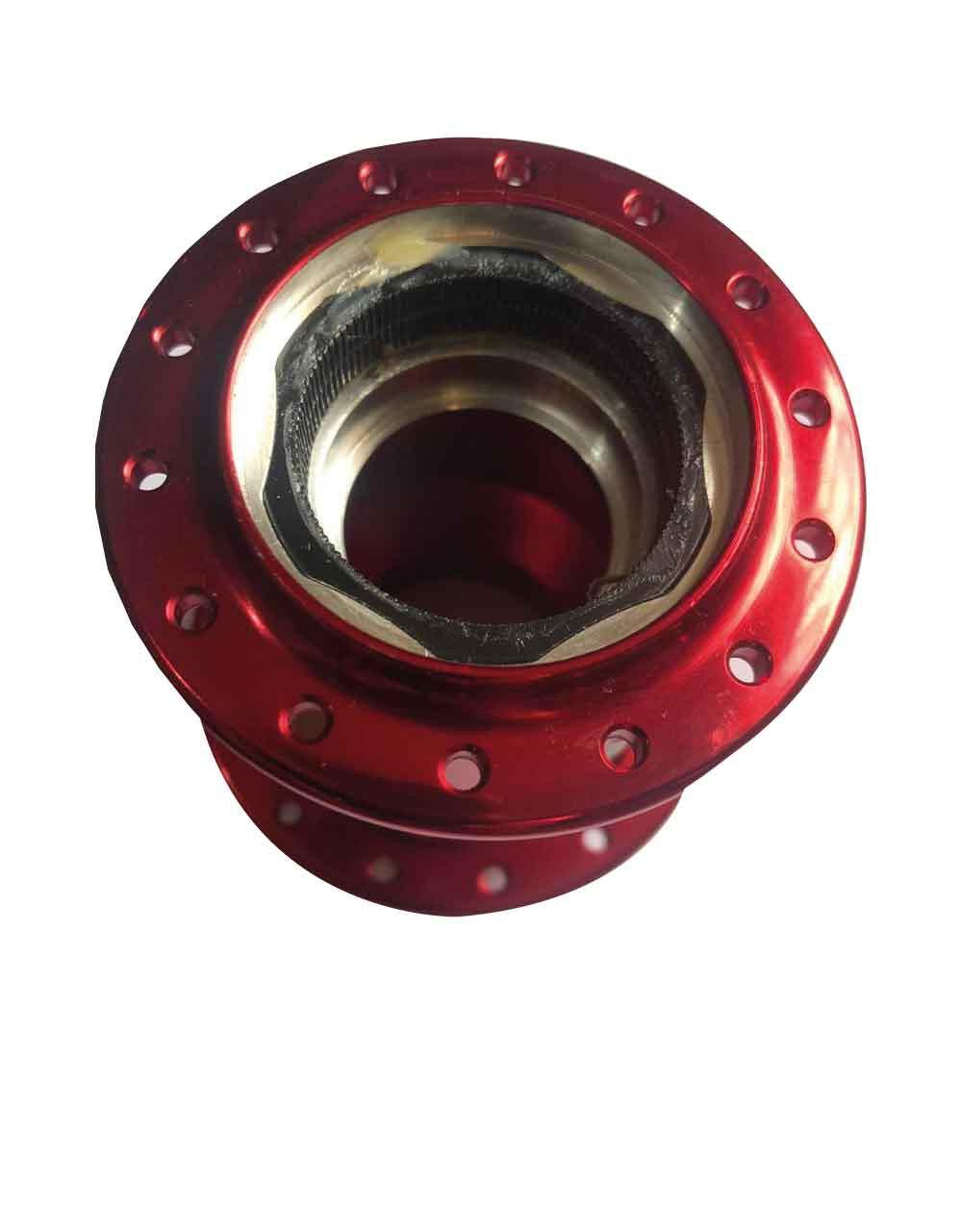 Carcaça Cubo Vzan mgc Systen vermelho 135/142 anel estriado